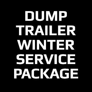 Dump Trailer Winter Service Package